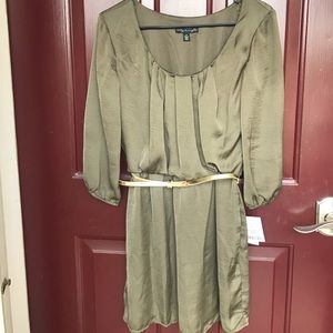 NWT Fall Dress with Belt